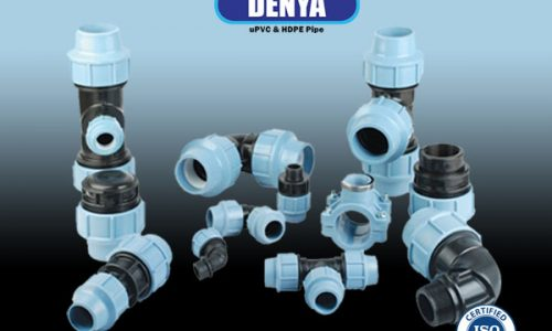 compression fitting hdpe